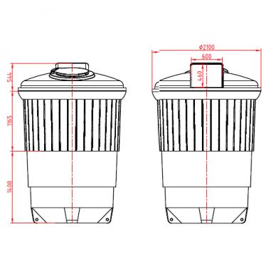 Šiukšlių konteineris 11