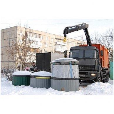 Šiukšlių konteineris 2